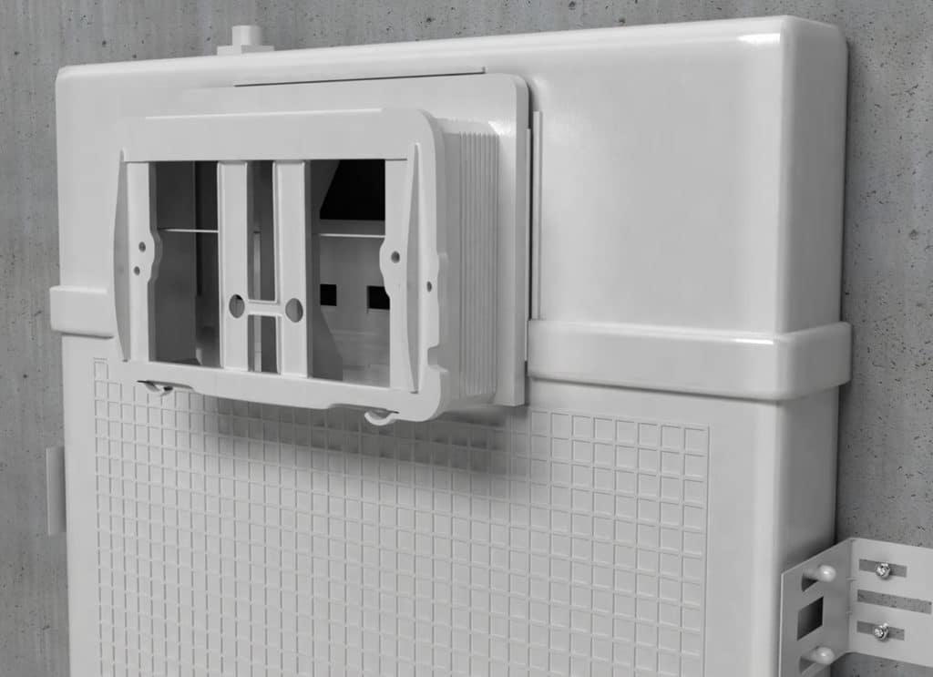 Cistern Plates Installation