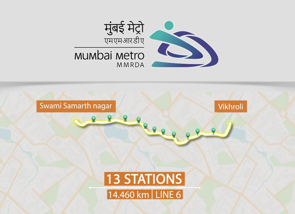 Mumbai Metro-MMRDA-Line 6
