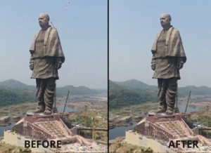 Statue-of-Unity-Clean-Plate-VFX