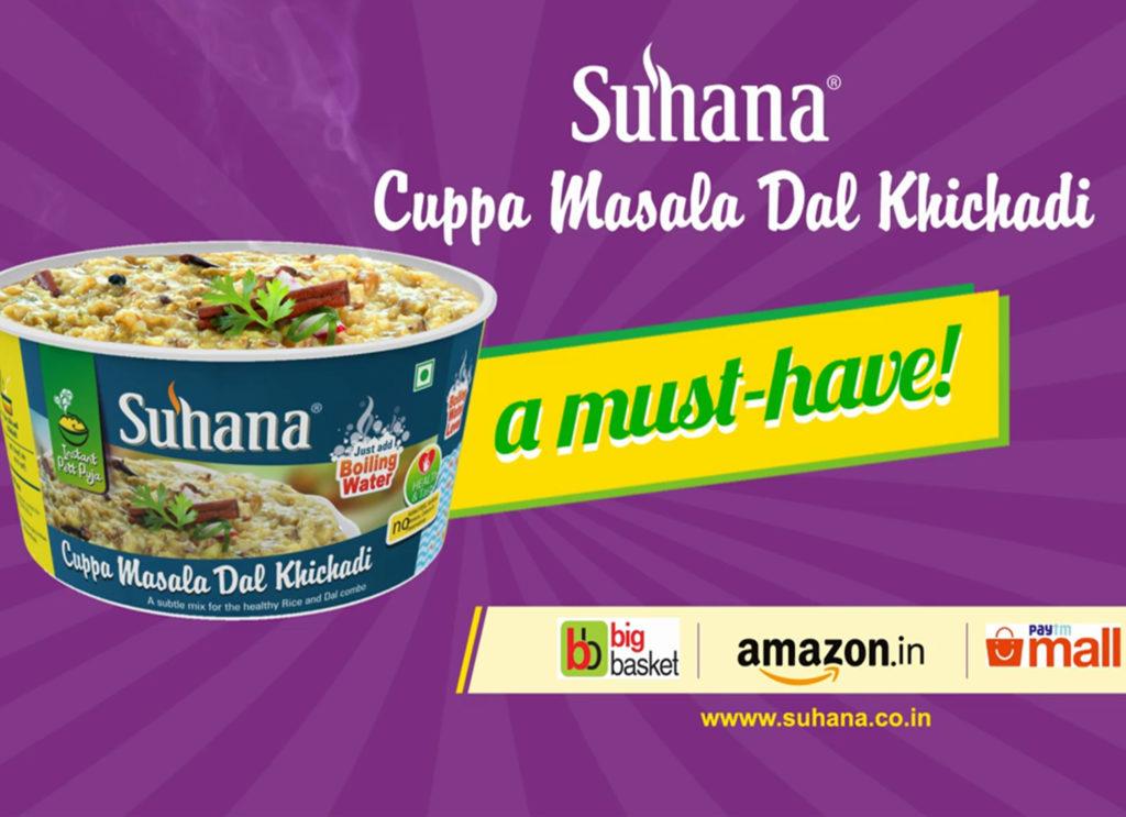Suhana Cuppa Dal Khichadi-Recipe