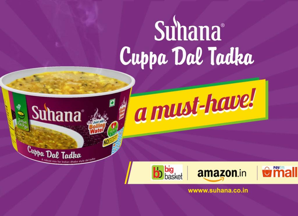 Suhana Cuppa Dal Tadka-Recipe