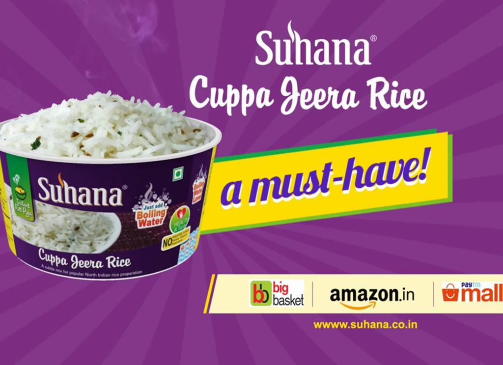 Suhana Cuppa Jeera Rice